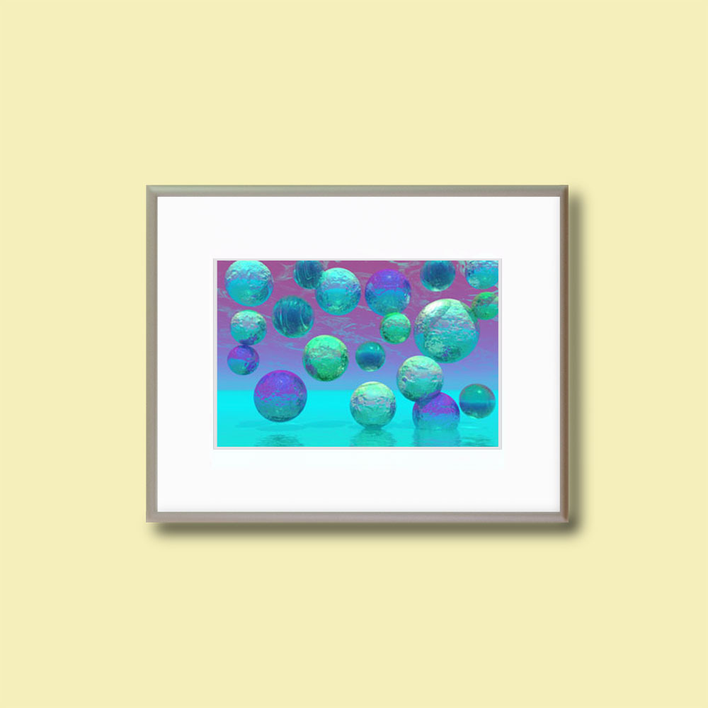 "Ocean Dreams - 11x14"" Matted Fine Art Print"
