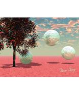 Peach Fantasy - Art Card, ACEO - $7.00