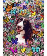 Lady in Butterflies - Art Card, ACEO - $7.00