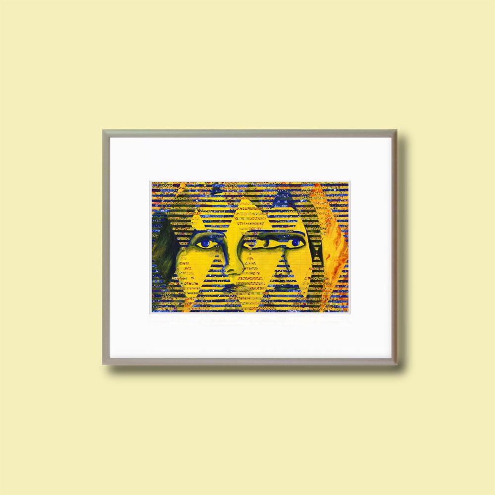 Conundrum II - Matted 5x7 Fine Art Print