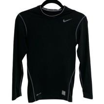 Nike Pro Compression men's S/P/CH Black Dri Fit activewear (B-3C) - $16.06