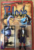 New Hook Captain Hook Multi Blade Figure Mattel 1991 Factory Sealed Vg Condition - $24.19