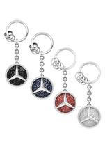 Genuine Mercedes-Benz Saint Tropez key ring (Blue) MBK-104-BL - $79.95