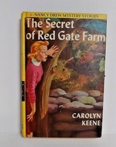 Nancy Drew The Secret of Red Gate Farm Carolyn Keene #6 yellow hardcover... - $19.79