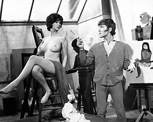 Primary image for Gabrielle Drake Topless 1969 16X20 Canvas Giclee