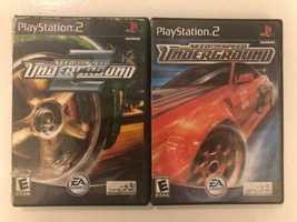 (2 game lot) Playstation 2 PS2 Need for Speed Underground Bundle: 1 AND 2! - $22.76