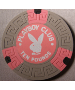 """Ten Pounds Casino Chip From: """"The Playboy Club Of London"""" - (SKU#2073) - $4.49"""