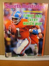 Sports Illustrated Magazine October 13 1986 Elway and Every Which Way - $6.29