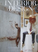 INTERIOR DESIGN MAGAZINE 8/04 Couture Art Colle... - $12.99