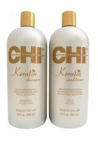 CHI Keratin Duo Shampoo & Conditioner Set 32 OZ - $62.61