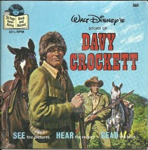 Davy Crockett Book 33 LP Record set Walt Disney Sealed Disneyland Vinyl ... - $9.93