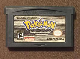 Pokemon Ash Grey English Game Boy Advance GBA - $17.00