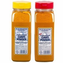 Blue Mountain Country Jamaican Curry and Hot Curry Powder, 22 ounce (Pac... - $23.95