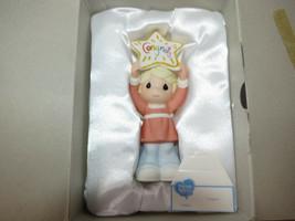 Precious Moments 930032 Congrats Girl with Star congrats blue Box New In... - $32.07