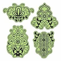 Inkadinkado Stamping Gear Cling Stamps, Mehndi Scrapbooking Stamp Set Ru... - $9.89