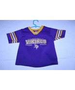 Toddler Minnesota Vikings 2T Jersey (Purple) NFL Officially Licensed - $12.19