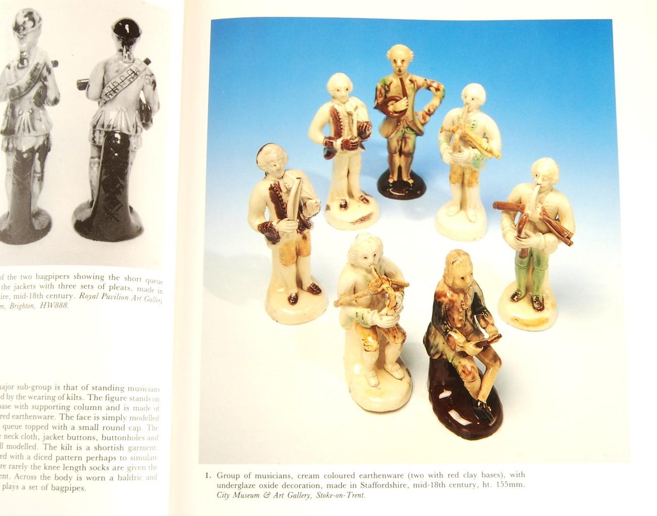 English Earthenware Figures 1740-1840 Pat Halfpenny HC Antique Collectors' Club