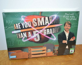 Are You Smarter Than A 5TH Grader Board Game New Sealed Trivia Family Game Night - $10.69