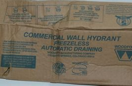 """Woodford Model 67P-18""""  Wall Hydrant P Inlet For Irrigation and Outdoor Watering image 4"""