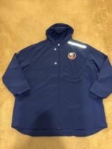 Fanatics Authentic Pro New York Islanders Full Zip Hooded Jacket Sz 3XL NEW - $59.39