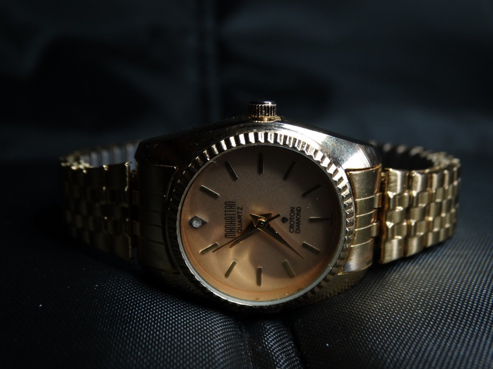 Croton Manhattan Quartz Ladies Watch Diamond And 33 Similar Items
