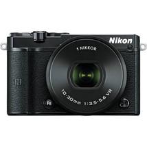 Nikon 1 J5 Mirrorless Digital Camera with 10-30mm Lens (Black) - $299.00