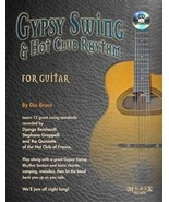 Gypsy Swing & Hot Club Rhythm For Guitar/Book/CD Set/Bruce - $13.95