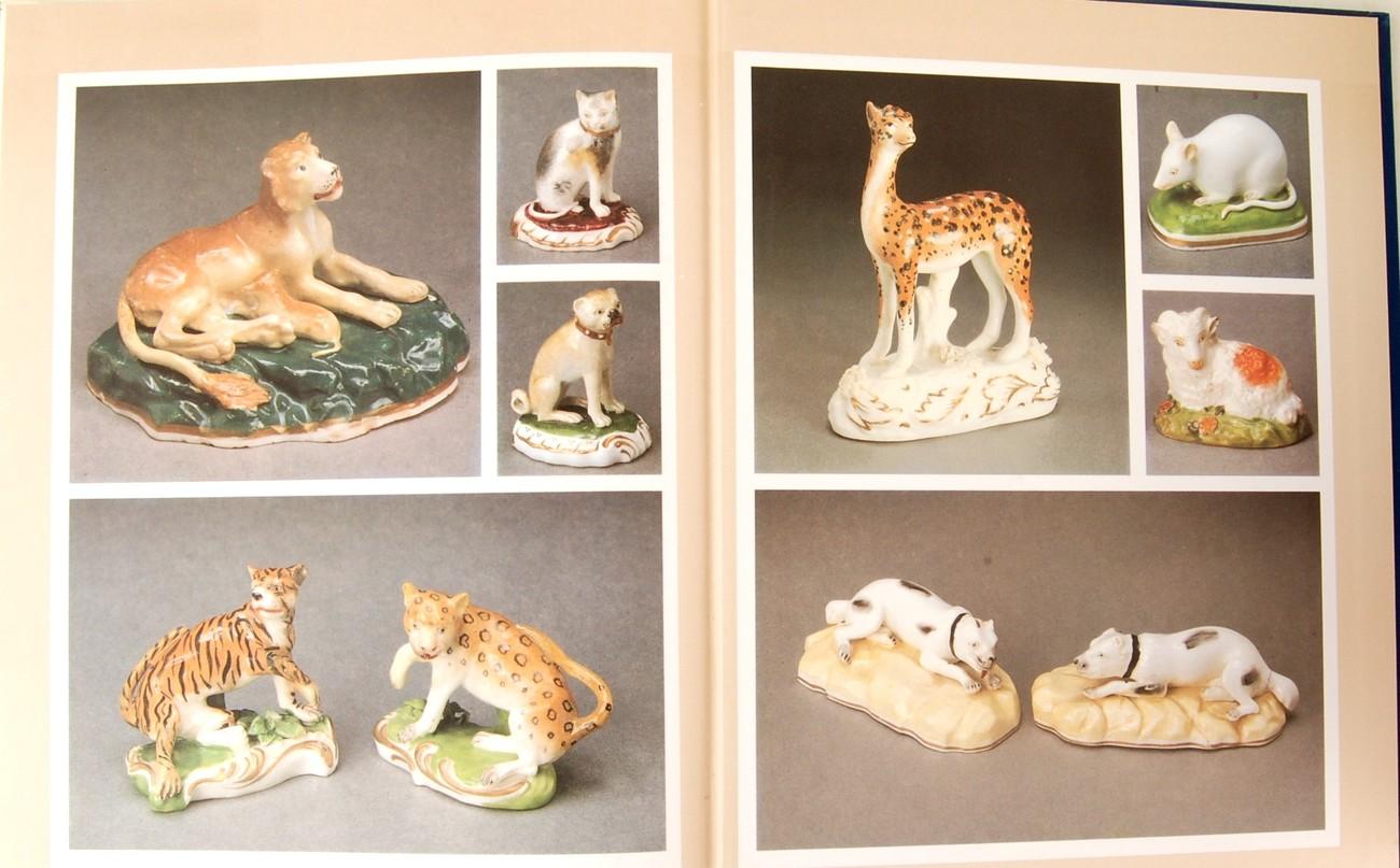 English Porcelain Animals 19th Century Dennis Rice HC Antiques Collectors' Book