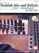Scottish Airs and Ballads For Autoharp/Book/CD Set - $12.95
