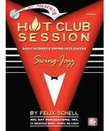 Hot Club Session/Basic Swing Jazz Guitar/Book/C... - $12.95