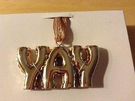 """YAY"" Balloon Design Hanging Ornament"