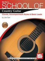 School of Country Guitar/Book/CD Set/Joe Carr - $12.99