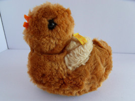 Steiff duck miniature button flag stuffed animal  made in Germany 2520 - $31.66
