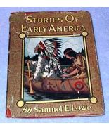 Stories of Early America 1920 Whitman Viola Jacobson Historical Book - $9.95