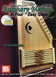 Autoharp Method in Four Easy Steps/Book/CD Set/Works for 12 Bar Autoharps!
