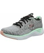 Womens Skechers Solar Fuse Brisk Escape Sneaker - Gray, Size 10 [13328/G... - $79.99