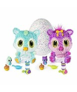 Hatchimals HatchiBabies Chipadee Hatching Egg with Interactive Pet Baby ... - $49.50