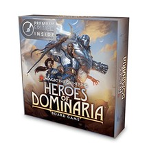 Magic: The Gathering: Heroes of Dominaria Board Game Premium Edition - $51.27