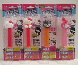 Hello Kitty Collectible Pez Dispensers- Lot of 4- NEW/NIP - $12.36
