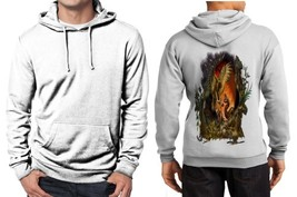 Hawk Vs Snake Clans Z Hoodie Men White - $48.99+