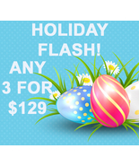 HOLIDAY SUN ONLY FLASH PICK ANY 3 FOR $129 BEST OFFERS MAGICK  - $129.00