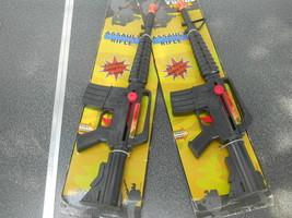 """2x Assault Action Rifle Police Force Toy Machine Gun w/Sound 19"""" L - $25.73"""