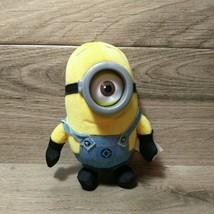 "Minion Stuart Plush Despicable Me Plush Doll 6"" Thinkway Toys  - $4.90"