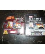 Marvel Minimates Iron Man 2020 & Raging Ultron professor x future magnet... - $16.98