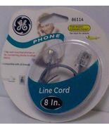 GE PHONE LINE CORD 8''   WHITE 86114 - $2.99
