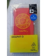 Keith Haring Collection Flip Cover Apple iPhone 6 6S Radient Baby/Red x ... - $26.39