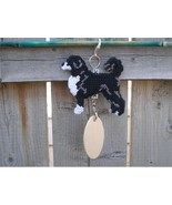 Portuguese Water Dog crate tag or decor hang anywhere, handmade, Retriev... - $23.00