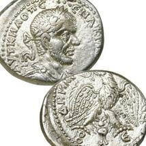 MACRINUS Silver Tetradrachm AU Ancient Roman Empire Coin Antioch Prieur 889 - $332.10