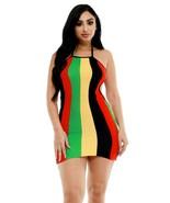 Rasta Dress Jamaican Clothes For Women Plus Size - $39.99
