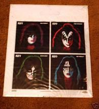 KISS ORIGINAL POLY RECORD BAG SEALED 1978 AUCOIN - $282.15